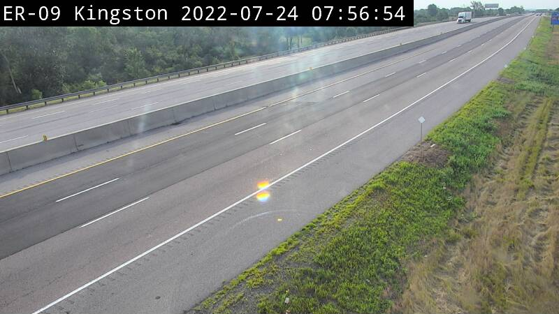 Live Traffic Camera of Highway 401 near Highway 38