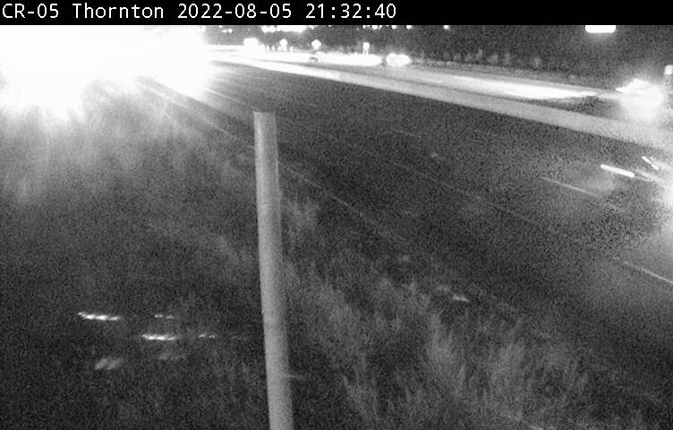 Webcam of Highway 400 near Innisfil Beach Road courtesy of the MTO