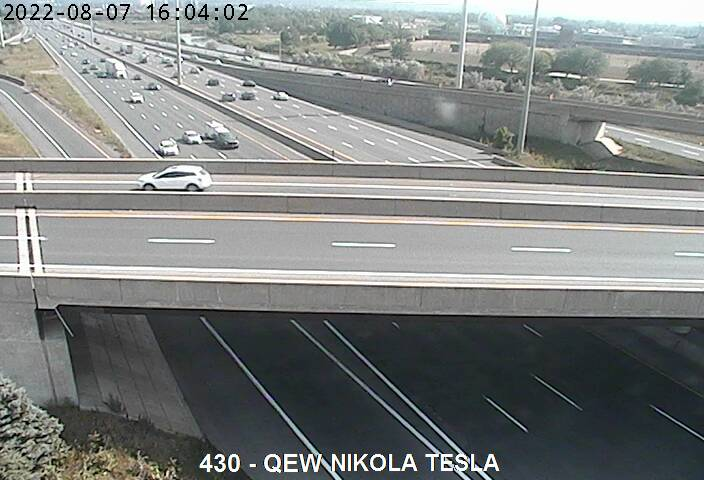 QEW near Burlington St