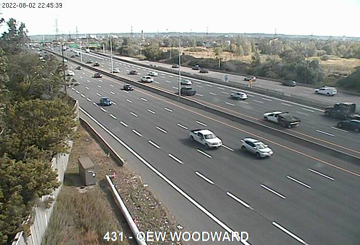 QEW near Woodward Ave