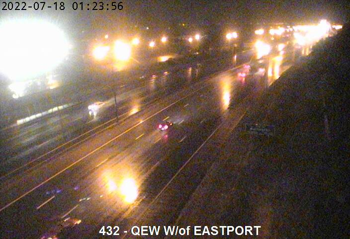 QEW near Eastport Dr