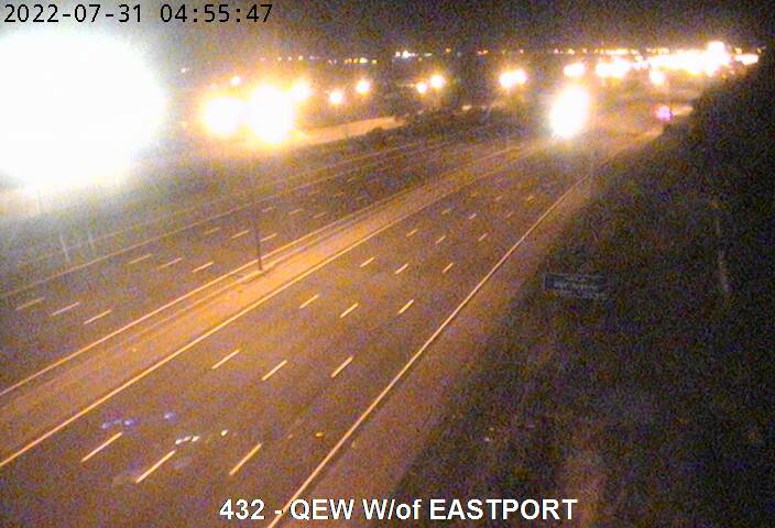 QEW near Eastport Drive