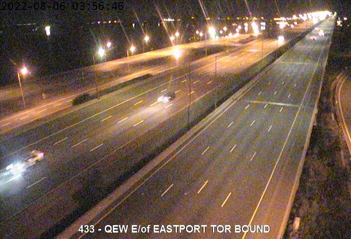 QEW Burlington Skyway - Hamilton End