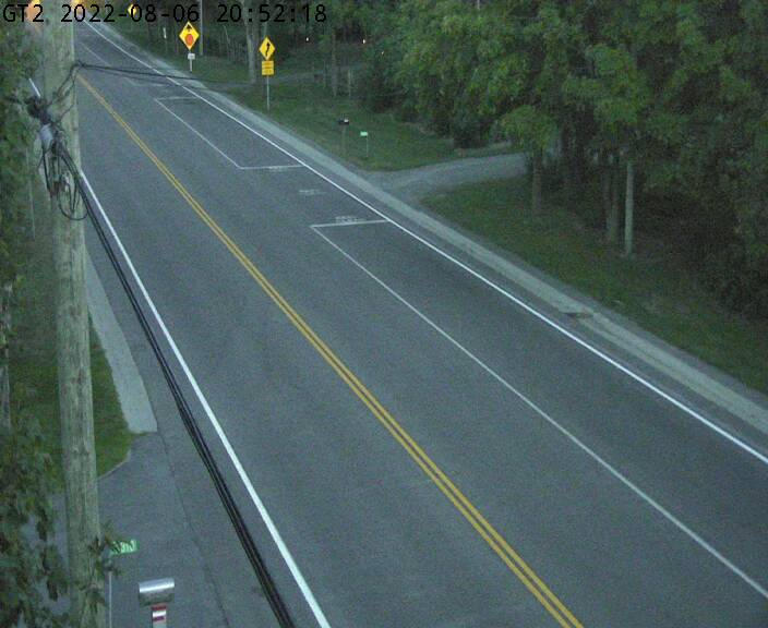 Live Hwy 33 Approaching Ferry Dock (Glenora Side)
