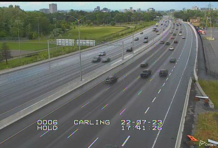 HWY 417 SOUTH OF CARLING AVE