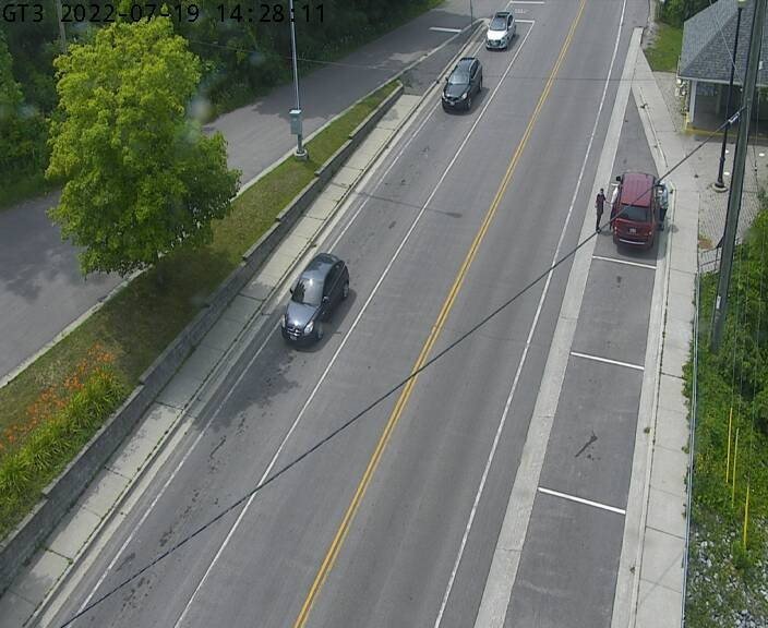 Live Hwy 33 at Ferry Dock (Glenora Side)