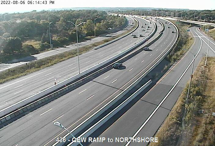 Traffic Camera of QEW south of Highway 2