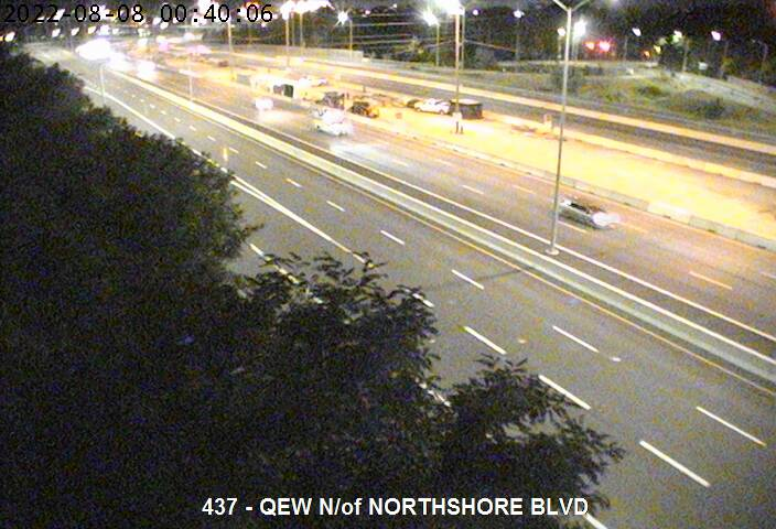 Traffic Camera of QEW north of Highway 2