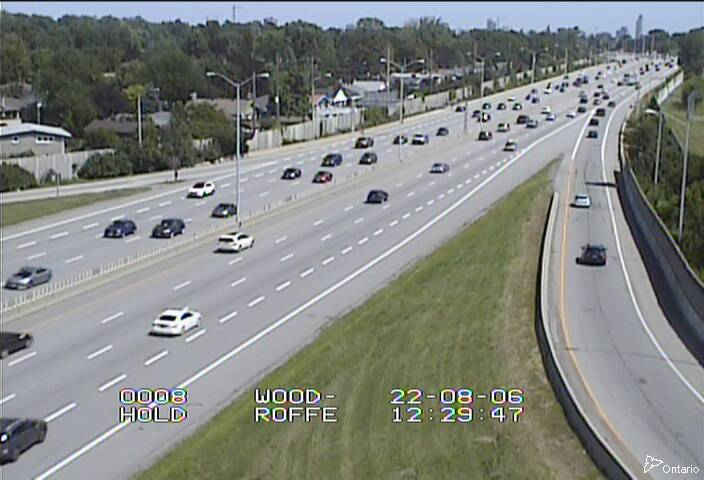 Highway 417 near Woodroffe Avenue