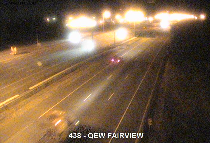 Traffic Camera of QEW near Fairview Street