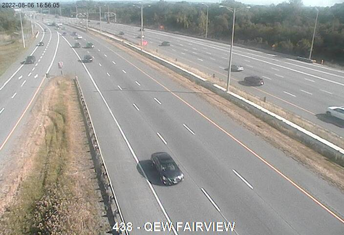 QEW near Fairview St