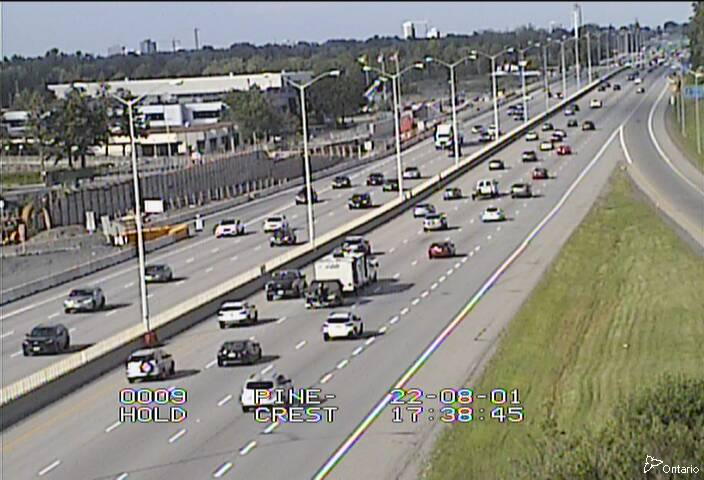 Highway 417 near Pinecrest Road