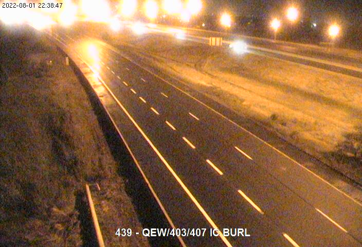 Live Traffic Camera of QEW near Highway 403 junction