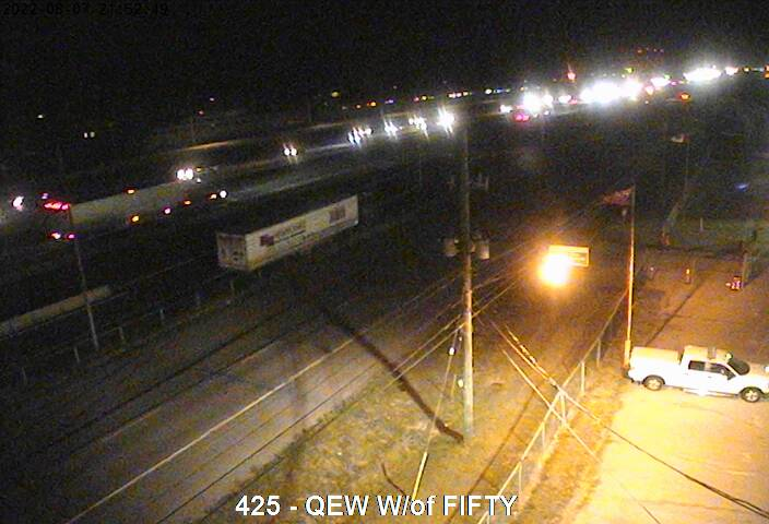 QEW west of 50 Road