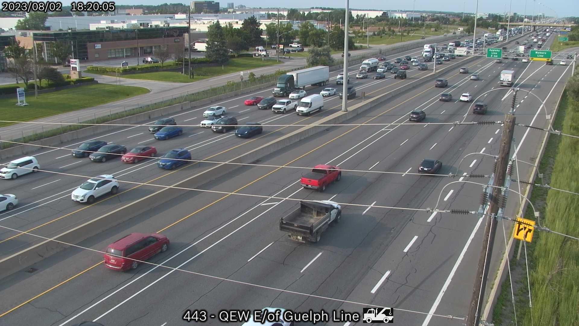 LIVE Burlington Traffic Cameras