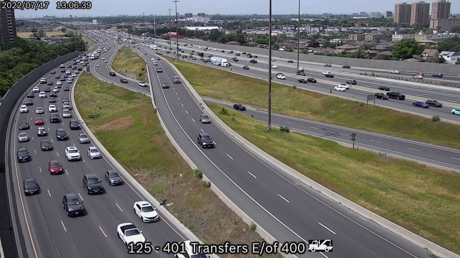 401 at basket weave near Jane St