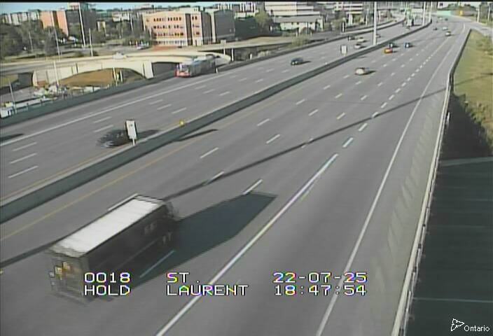 HWY 417 NEAR ST. LAURENT BLVD.