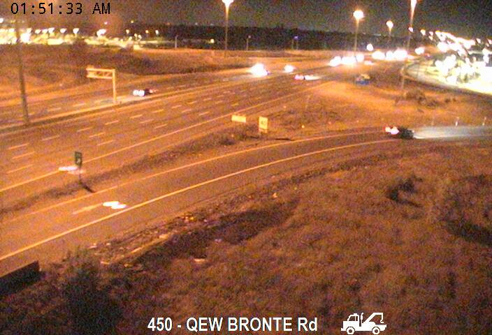 QEW near Bronte Road