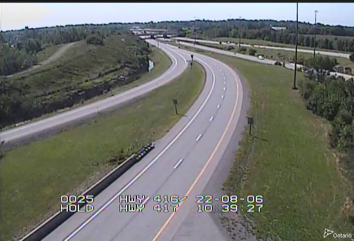 HWY 416 NB RAMP TO HWY 417 EAST