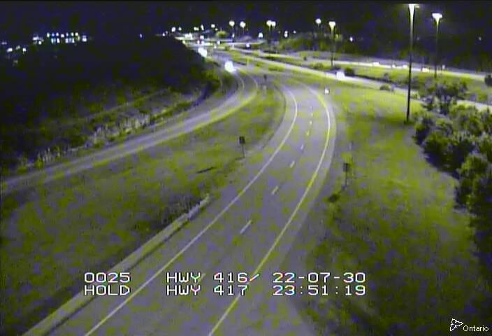 Live Traffic Camera of HWY 416 NB RAMP TO HWY 417 EAST