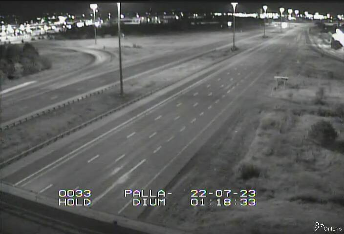 Live Traffic Camera of Highway 417 NEAR PALLADIUM DR