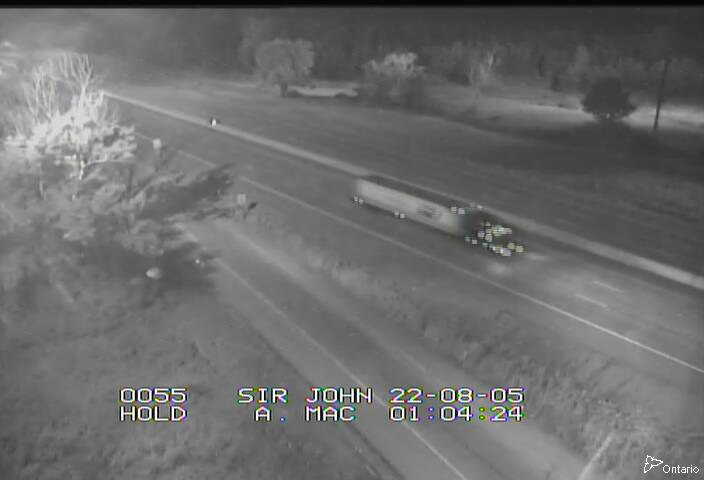 Traffic Camera of Highway 401 near Sir John A Macdonald Blvd