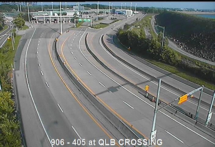 Traffic Cameras of 405 West of Niagara River
