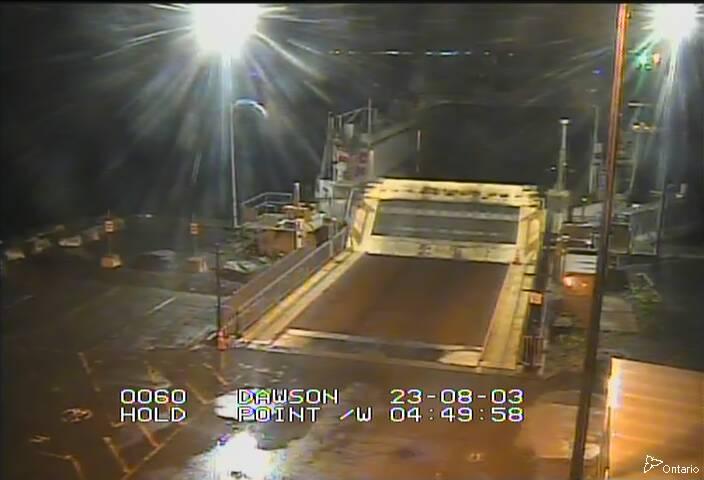Live Wolfe Island Ferry - Dawson's Point Terminal (Winter)