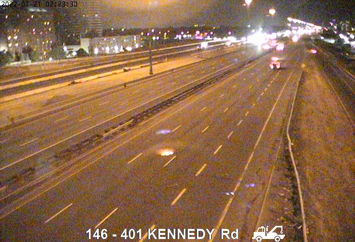 401 near Kennedy Rd