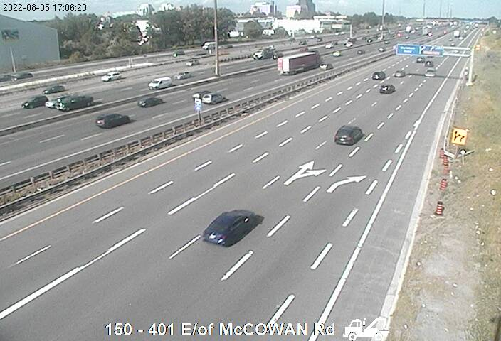 401 near Bellamy Rd