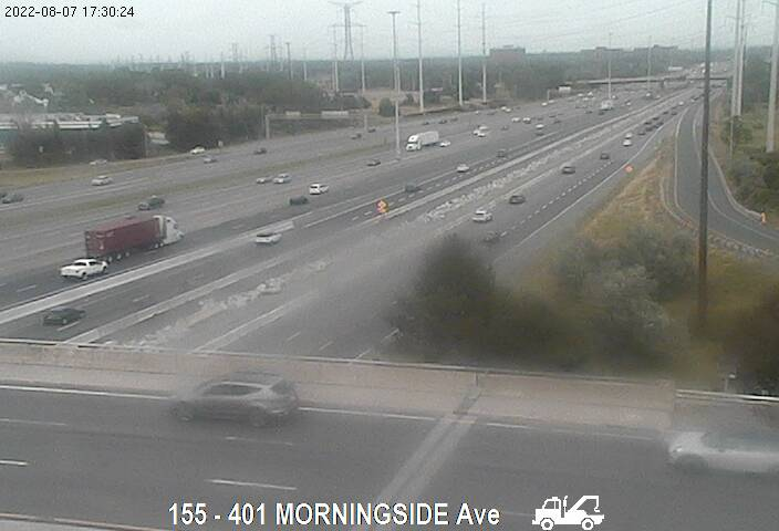 401 near Morningside Ave