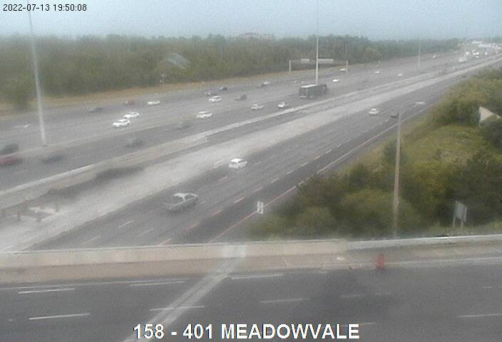 401 near Meadowvale Rd